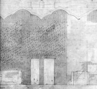 Elevation drawing, St Mark's Church
