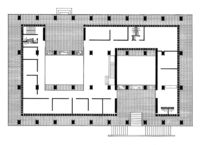 United States Embassy, Ground Floor Plan
