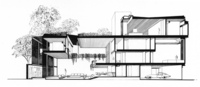 Hirsch Residence, Section